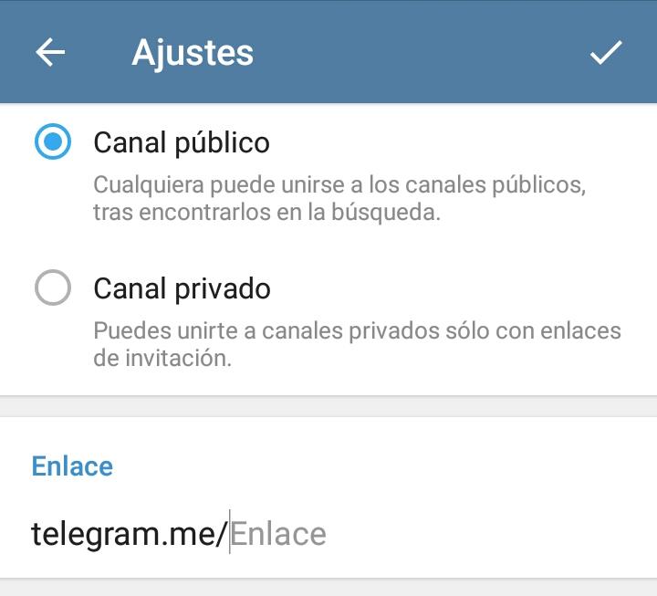 Abrir una cuenta en Telegram