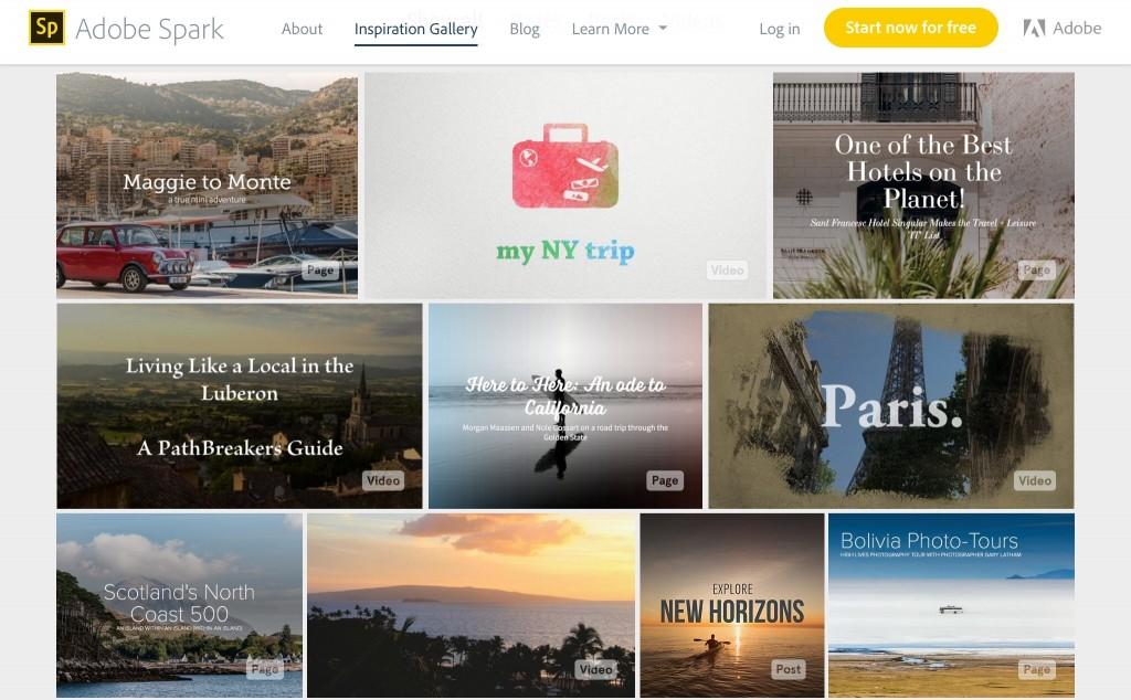 Cómo crear imágenes y vídeos con Adobe Spark para Redes Sociales