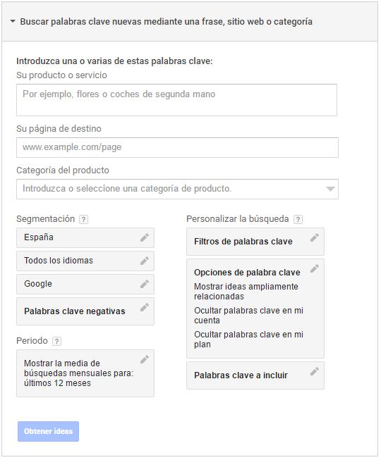 Google Trends te ayuda a elegir las mejores keywords