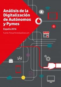 Informe digitalización Pymes y Autonomos en España 2016