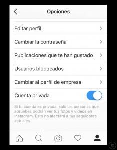 Abrir un perfil de empresa en Instagram
