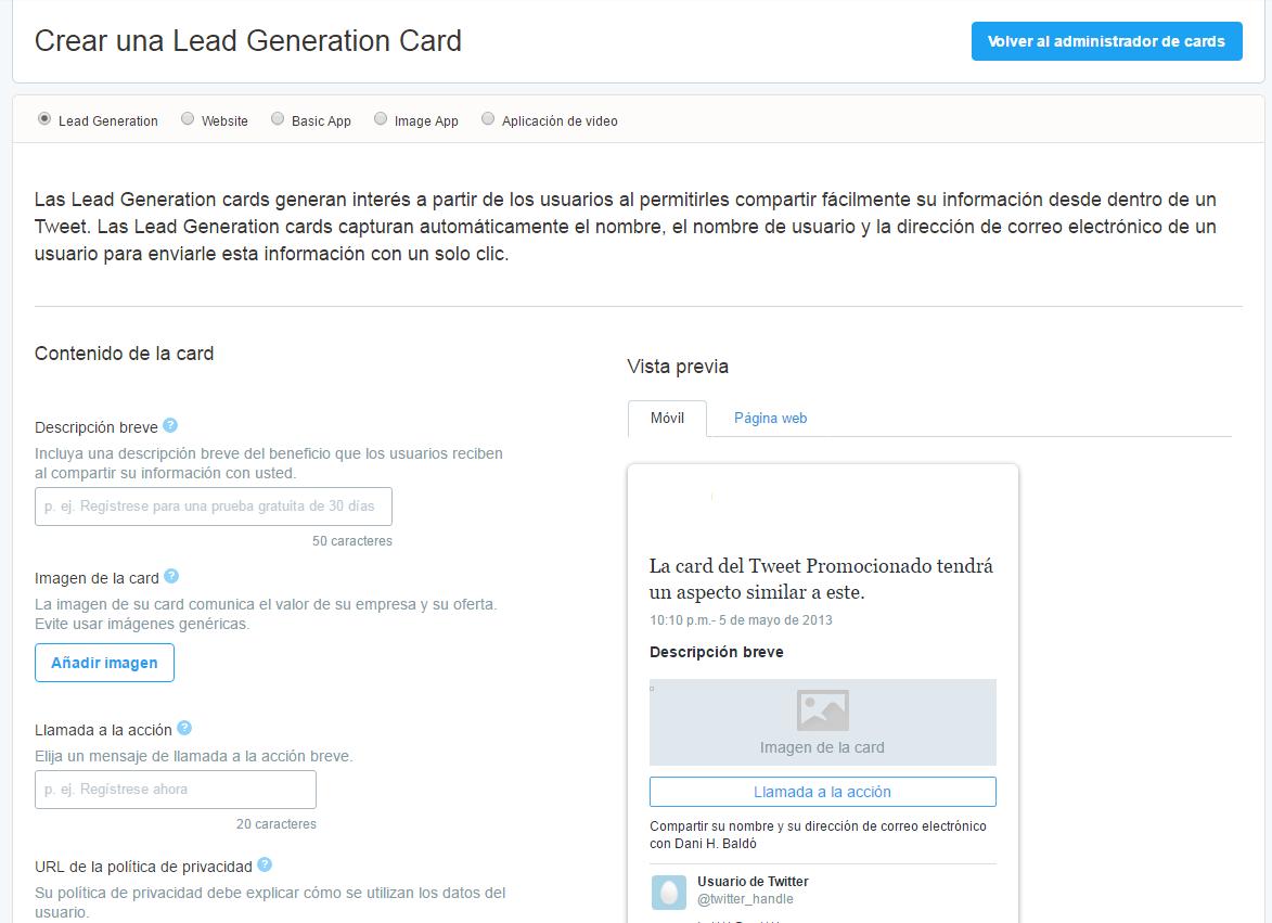 Twitter Cards: un salto de calidad en tu perfil de empresa