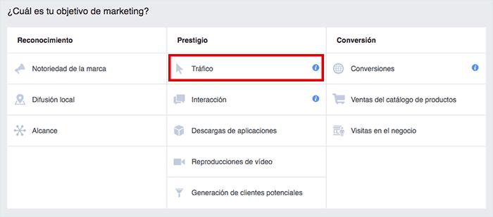Cómo crear tu primer anuncio en Facebook Ads