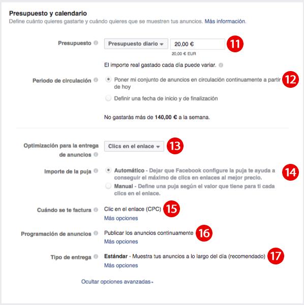 Cómo crear ty primer anuncio en Facebook Ads