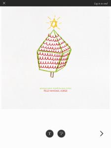 Felicita online la Navidad con las tarjetas de Paperless