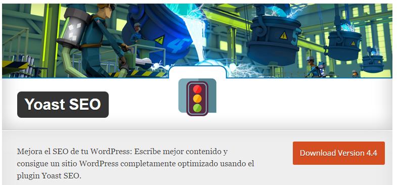 El plugin de Yoast se puede instalar gratuitamente en WordPress
