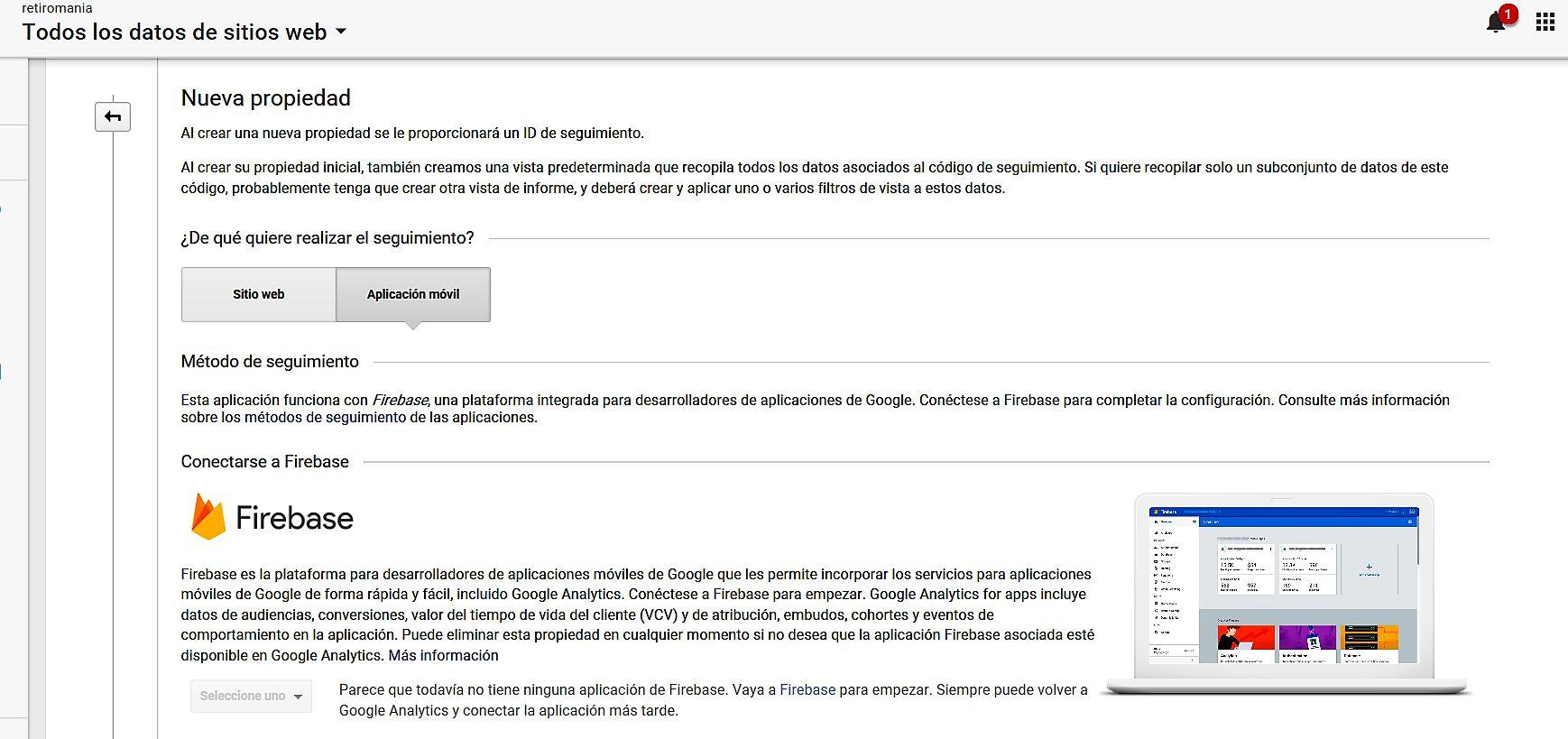 Mide el posicionamiento ASO de tu app con Google Analytics