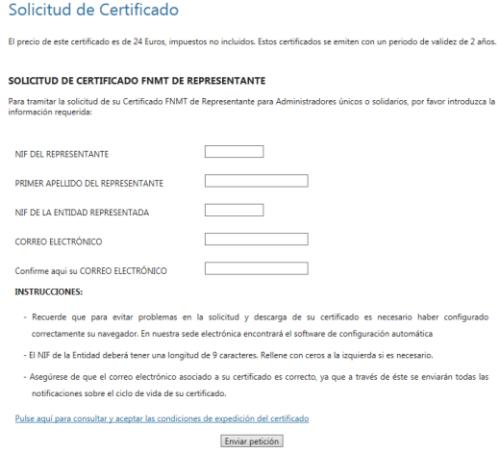 LA FIRMA DIGITAL_Solicitud de certificado
