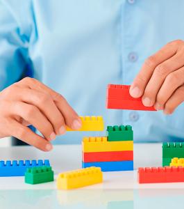 Lego para resolver problemas de equipo