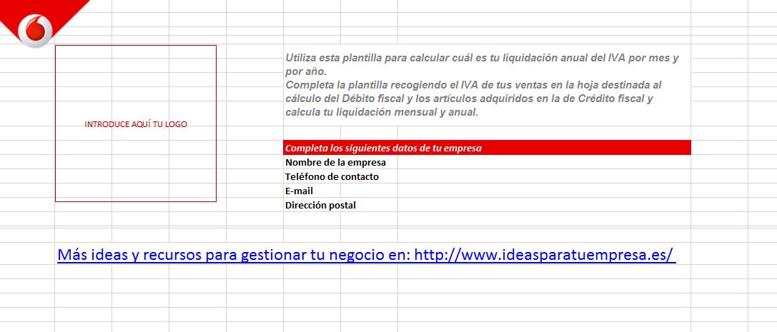 Calcula fácilmente la liquidación del IVA mensual y anual [Plantilla]