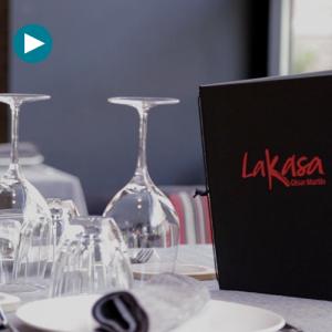 Restaurante Lakasa: la cocina en vivo y en directo