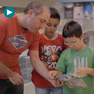 Marco Topo, el juego interactivo para visitar el museo en familia