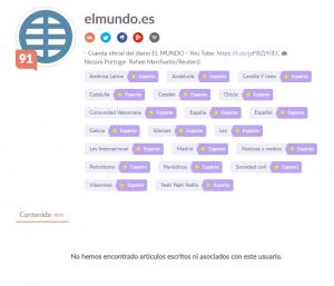 Klout_análisis de perfil