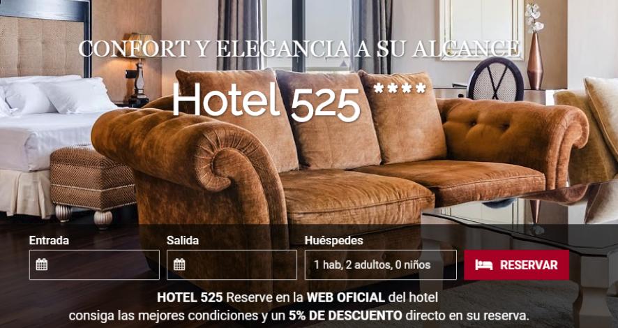 hotel reservas