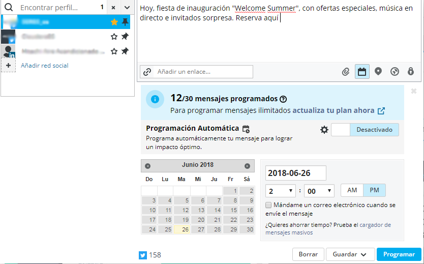 Hootsuite, gestiona tus redes sociales