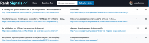 ranksignals para mejorar tu posicionamiento web