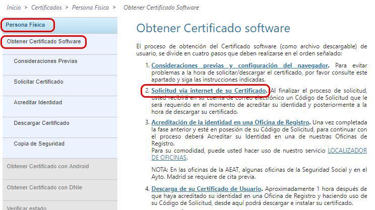 Obtener certificado digital del autónomo persona física