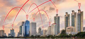 La conectividad 5G en las ciudades