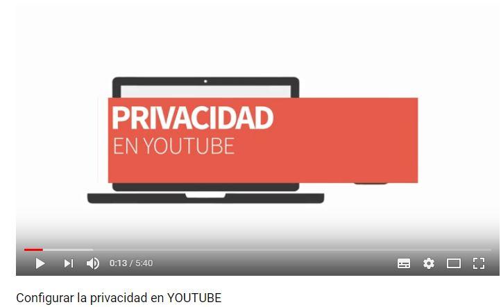 Youtube AEPD privacidad