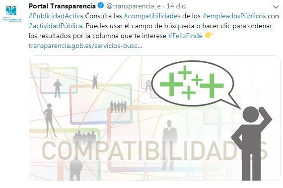 Tuit portal transparencia compatibilidades