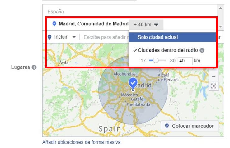 Microsegmentación Madrid