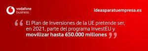 Quote Plan inversiones UE