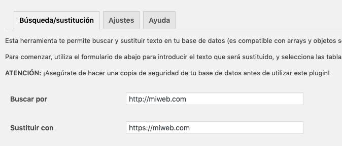 búsqueda de http