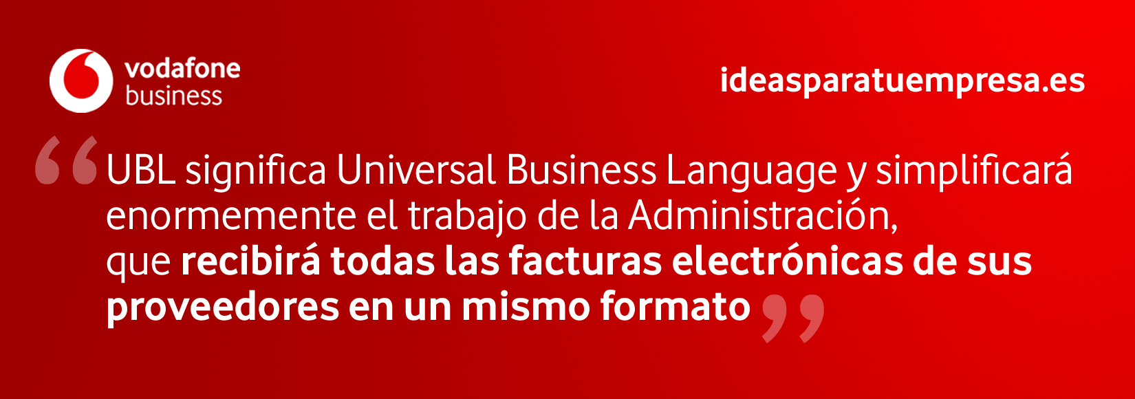 UBL: Universal Business Language