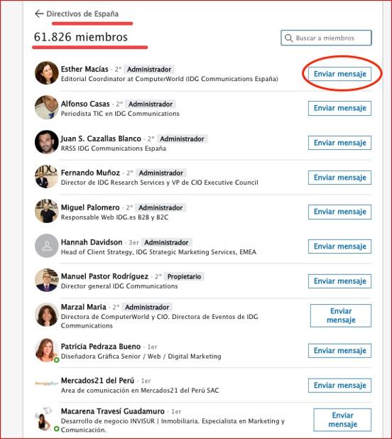 Cómo buscar grupos en LinkedIn