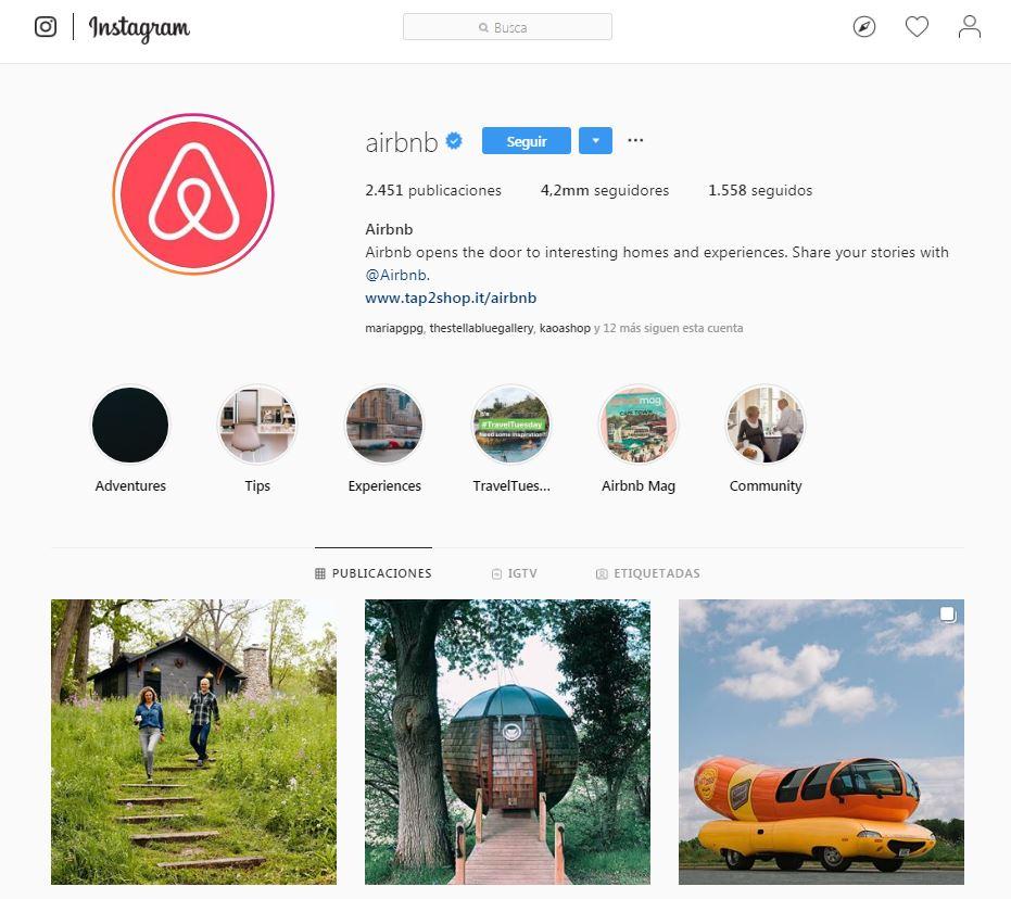 Perfil Airbnb