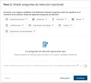 Proceso Linkedin paso 2
