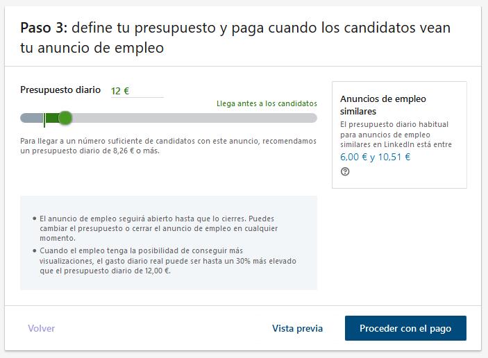 Proceso Linkedin paso 3