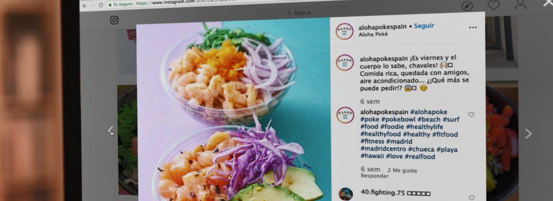 Aloha Poke: la slow food hecha fast gracias a las nuevas tecnologías
