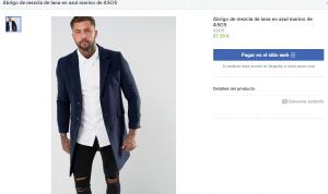 ASOS tienda Facebook