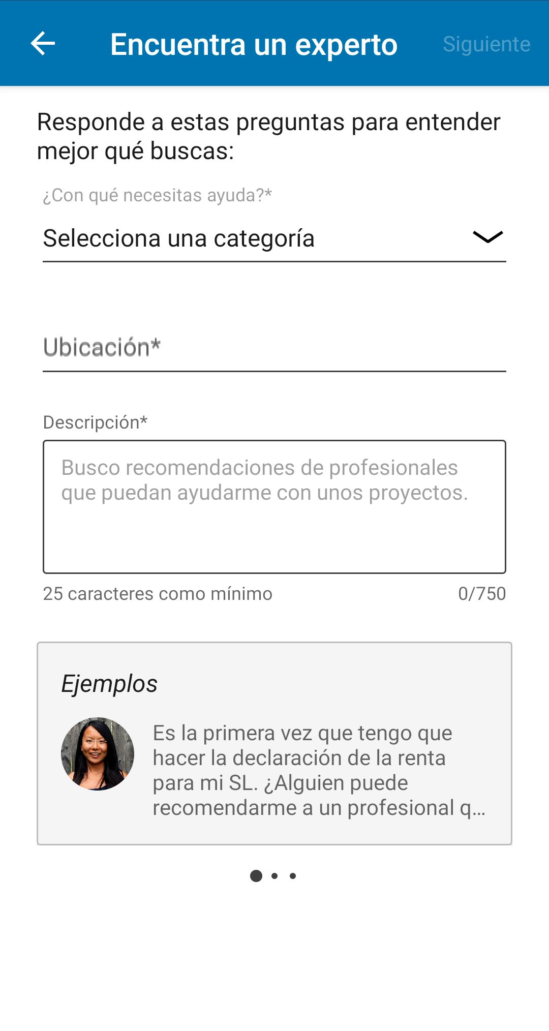 Paso 3 LinkedIn freelances