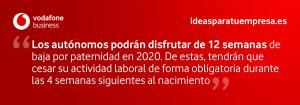 Quote permiso paternidad 2020