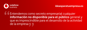 Quote Ley Secreto Empresarial