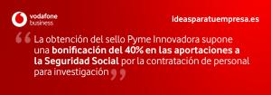 Sello para Pymes innovadoras