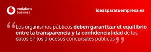 Quote confidencialidad concursos públicos