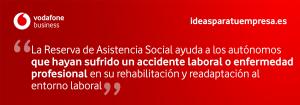 Quote Reserva Asistencia Social